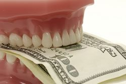 teeth and dollars