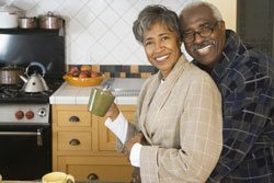 retired black couple