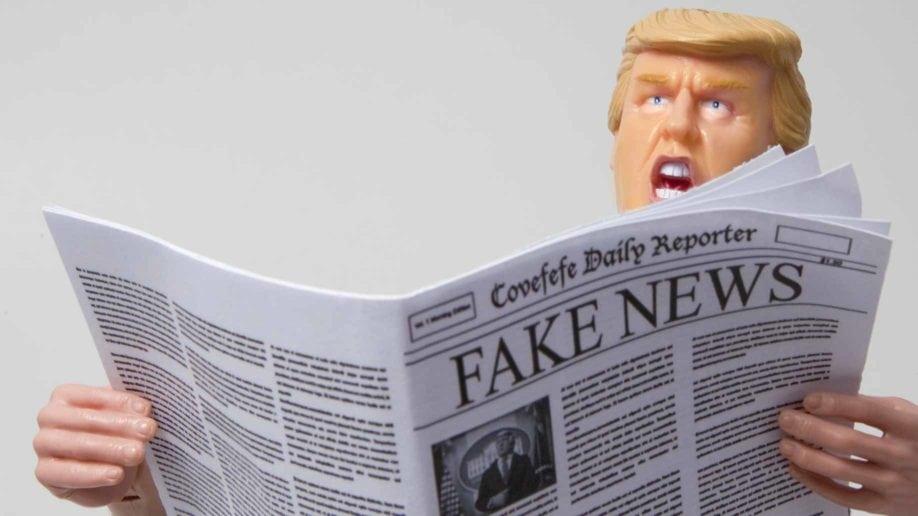 fake newspaper trump