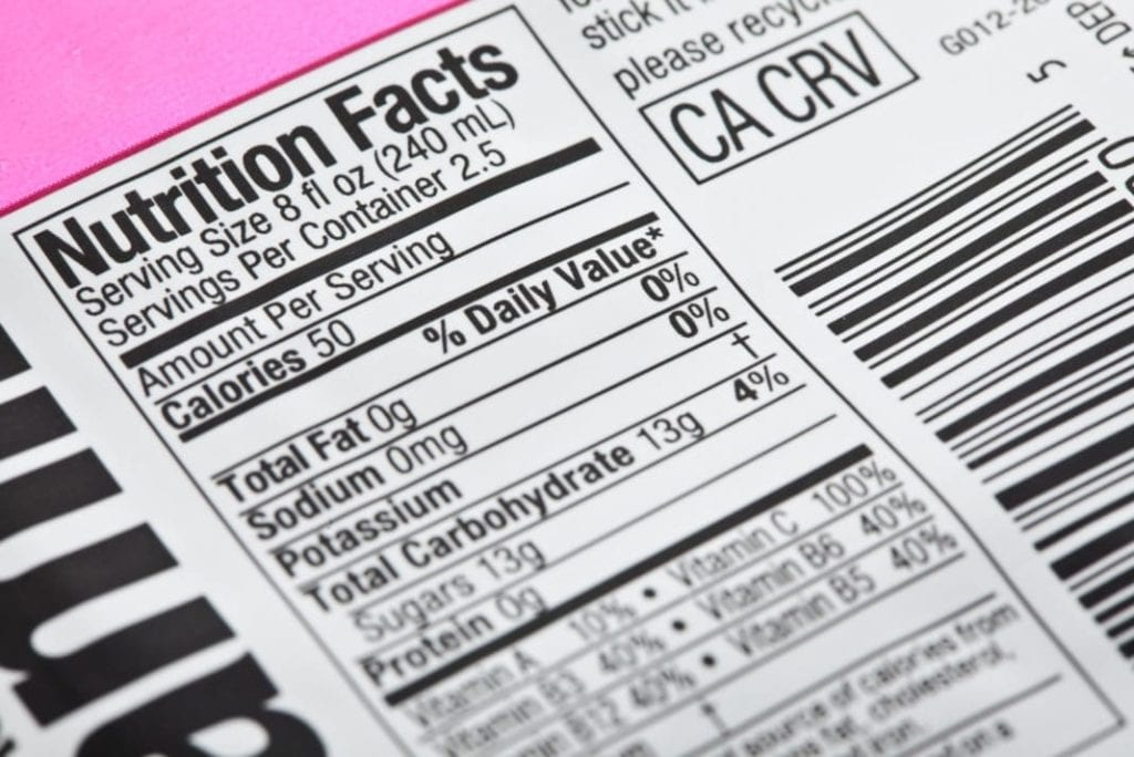 nutrition facts label 1068x713