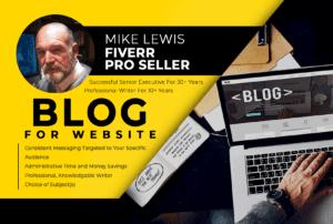 Blog for Website V1.3